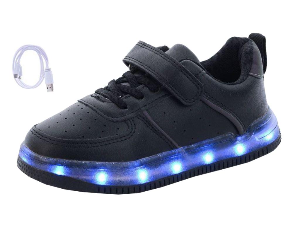 Купить Кроссовки с LED-подсветкой. Размер 32. ТМ JongGolf недорого